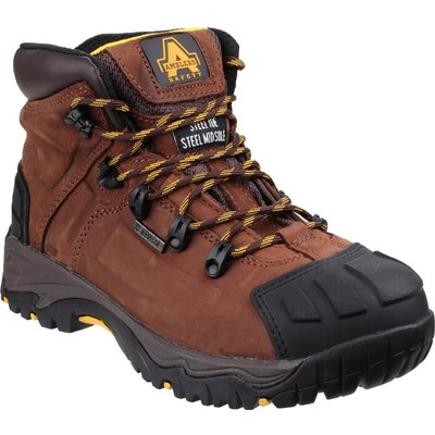 Amblers Mens Safety FS39 Waterproof Safety Boots Brown