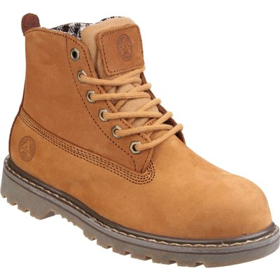 Amblers Ladies Safety FS103 Goodyear Welted Safety Boots Honey