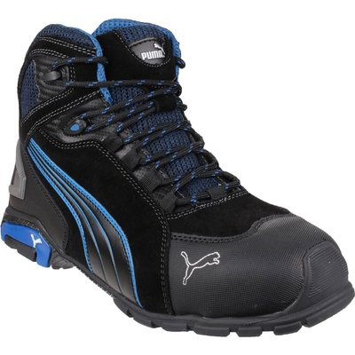 Puma Mens Safety Rio Mid Safety Boots Black