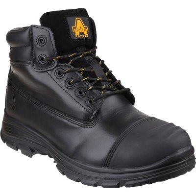 Amblers Mens Safety FS301 Brecon Water Resistant Metatarsal Guard Safety Boots Black