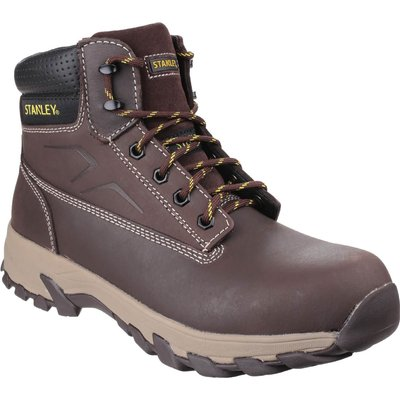Stanley Mens Tradesman Safety Boots Brown