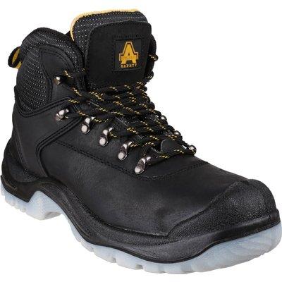 Amblers Mens Safety FS199 Antistatic Hiker Safety Boots Black