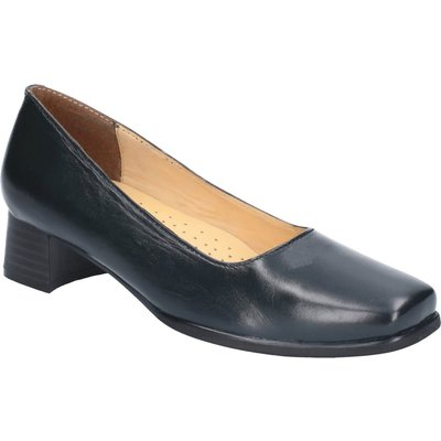 Amblers Walford Ladies Shoes Wide Fit Court Navy