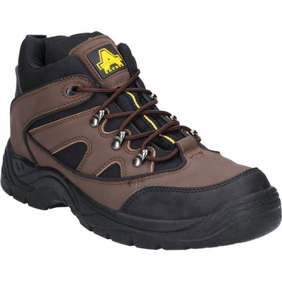Amblers Mens Safety FS152 Vegan Friendly Safety Boots Brown