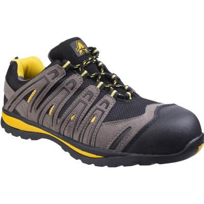 Amblers Safety FS42C Metal Free Lace Up Safety Trainer Black