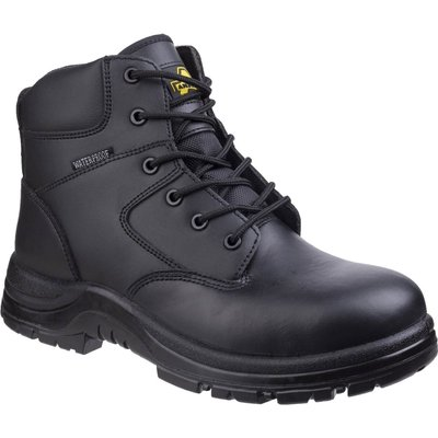 Amblers Mens Safety FS006C Metal Free Waterproof Safety Boots Black