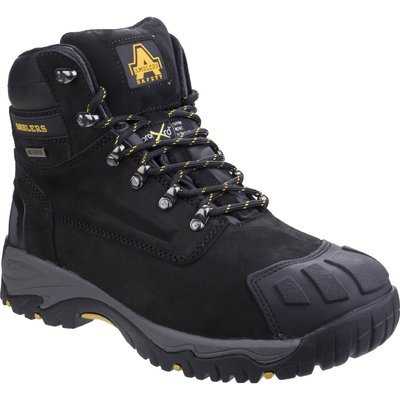 Amblers Mens Safety FS987 Metatarsal Protection Waterproof Safety Boots Black