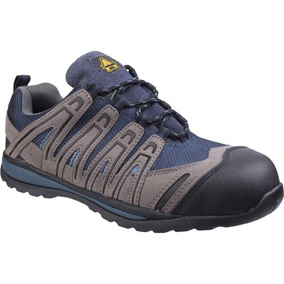 Amblers Safety FS34C Metal Free Lightweight Lace Up Safety Trainer Blue
