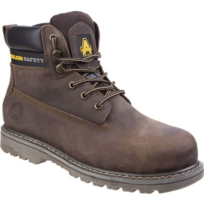 Amblers Safety FS164 Goodyear Welted Industrial Safety Boot Brown