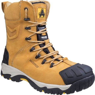Amblers Mens Safety FS998 Waterproof Safety Boots Honey