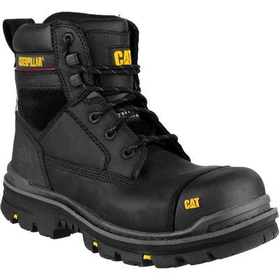 Caterpillar Mens Gravel Safety Boots Black