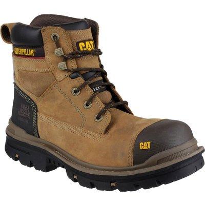 Caterpillar Mens Gravel Safety Boots Beige
