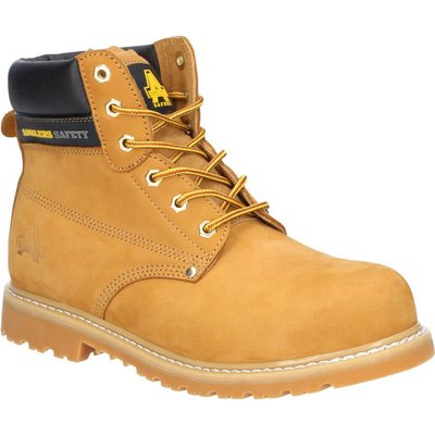 Amblers Mens Safety FS7 Goodyear Welted Safety Boots Honey