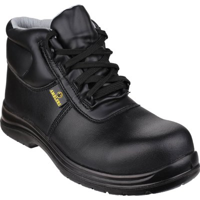 Amblers Mens Safety FS663 Metal-Free Water-Resistant Safety Boots Black