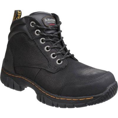 Dr Martens Mens Riverton Hiker Safety Boots Black