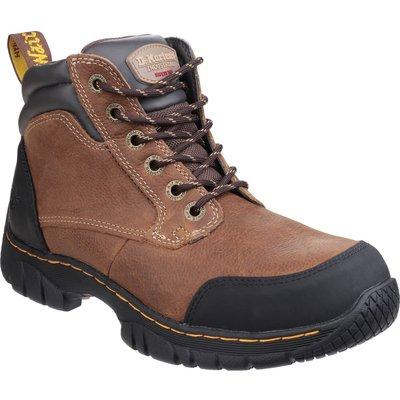 Dr Martens Mens Riverton Hiker Safety Boots Brown