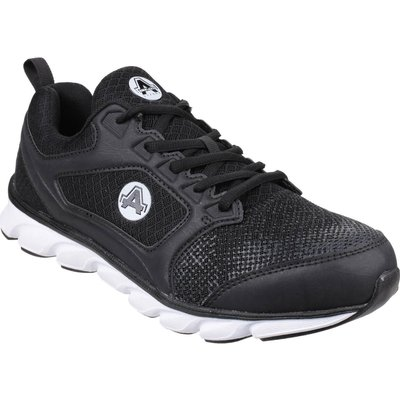 Amblers Safety As707 Lightweight Non Leather Safety Trainer Black