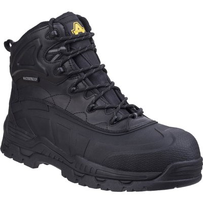 Amblers Mens Safety FS430 Hybrid Waterproof Non-Metal Safety Boots Black