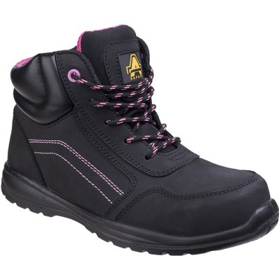 Amblers Mens Safety AS601 Lydia Composite Safety Boots Black