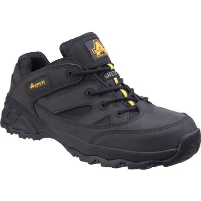 Amblers Safety FS68C Fully Composite Metal Free Safety Trainer Black