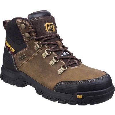 Caterpillar Mens Framework Safety Boots Brown