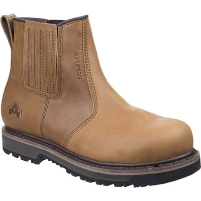 Amblers Mens Safety As232 Safety Boots Tan