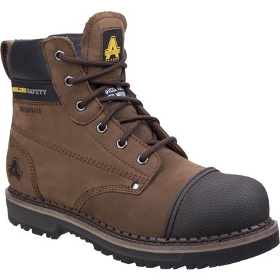 Amblers Mens Safety As233 Scuff Boots Brown