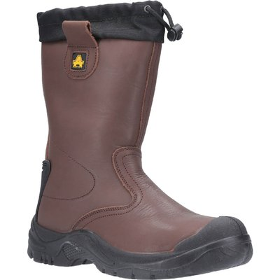 Amblers Safety Fs245 Antistatic Safety Rigger Boot Brown