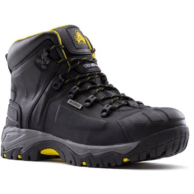 Amblers Safety As803 Waterproof Wide Fit Safety Boot Black