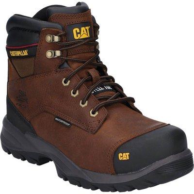 Caterpillar Spiro Waterproof Safety Boot Dark Brown