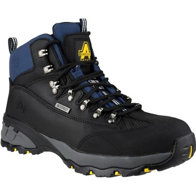 Amblers Mens Safety FS161 Waterproof Hiker Safety Boots Black