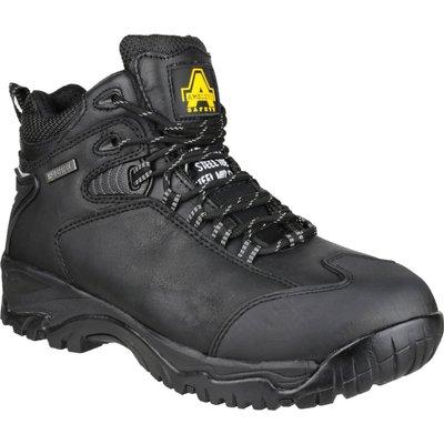 Amblers Mens Safety FS190N Waterproof Hiker Safety Boots Black