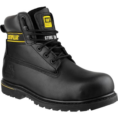 Caterpillar Mens Holton Safety Boots Black