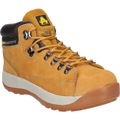 Amblers Mens Safety FS122 Hardwearing Safety Boots Honey