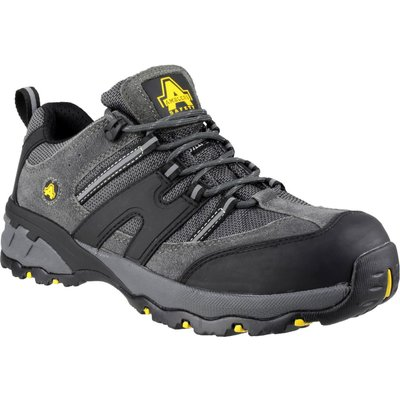 Amblers Safety FS188N Lightweight Lace Up Safety Trainer Grey
