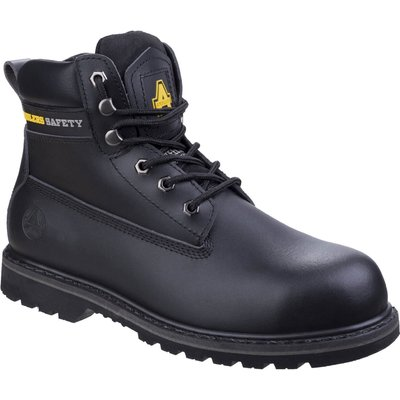Amblers Mens Safety FS9 Goodyear Welted Safety Boots Black