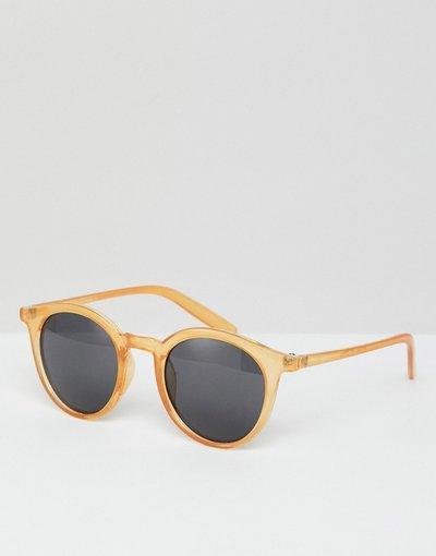 Occhiali Giallo uomo Occhiali da sole oro - Giallo - 7X