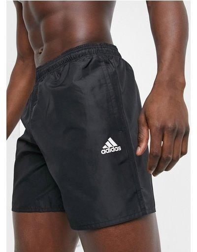 Costume Nero uomo Pantaloncini da bagno con logo neri - Badge of Sport - adidas - Nero