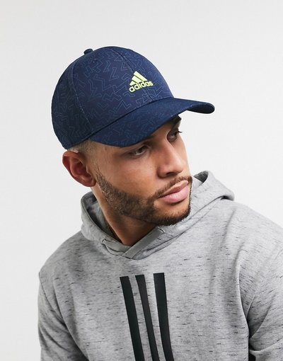 Cappello Navy uomo Berretto in colore pop blu navy - adidas golf