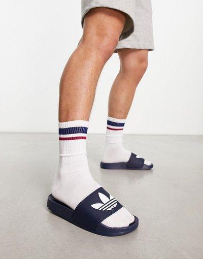 Novita Blu navy uomo adidas Originals - Sliders blu navy - Adilette Lite