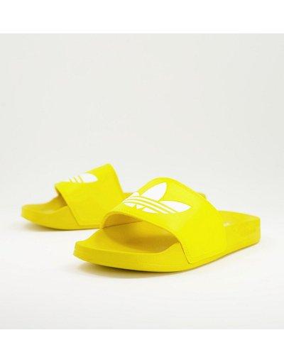 Novita Giallo uomo adidas Originals - Adilette Lite - Sliders gialle - Giallo