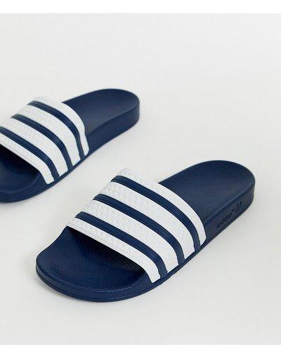 Novita Navy uomo adidas Originals - Slider blu navy - Adilette