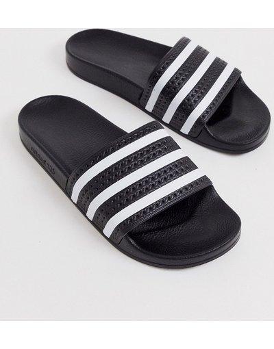 Novita Nero uomo adidas Originals - Slider nere - Adilette - Nero