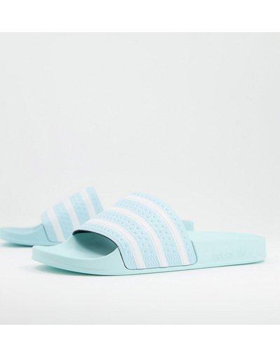 Novita Blu uomo adidas Originals - Sliders azzurre - Adilette - Blu