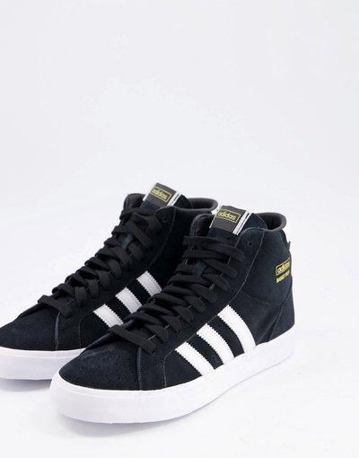Sneackers Nero uomo Sneakers alte nere - adidas Originals - Basket Profi - Nero