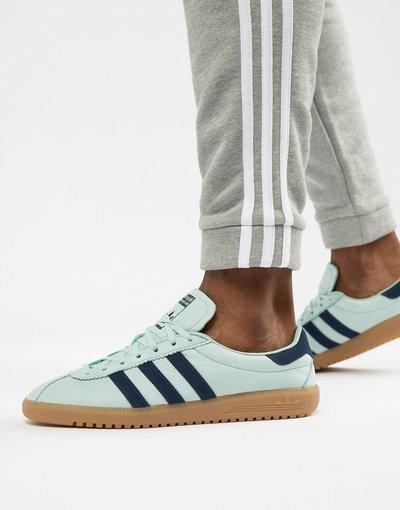 Verde uomo adidas Originals - Bermuda CQ2783 - Sneakers verdi - Verde