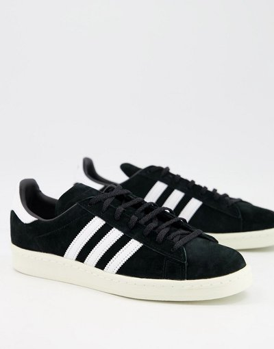 Stivali Nero uomo adidas Originals - Sneakers nere - Campus 80 - Nero