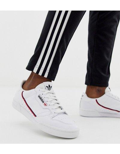 Stivali Bianco uomo Sneakers stile anni'80 bianche - adidas Originals - Ccontinental - Bianco
