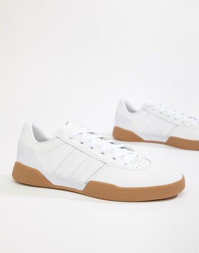 Bianco uomo Sneakers bianche B22729 - adidas Originals - City Cup - Bianco