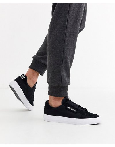 Stivali Bianco uomo Continental Vulc - adidas Originals - Sneakers nere - Bianco
